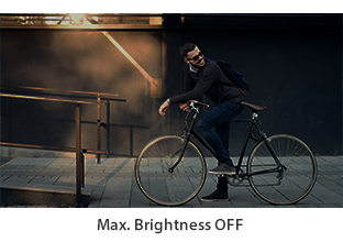 Max Brightness On/Off