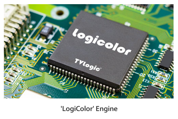 The new color processor - 'LogiColor' Engine